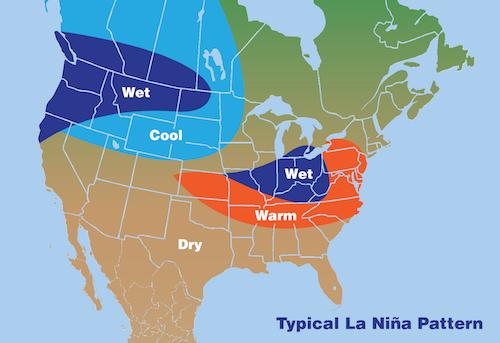 El Nino maps